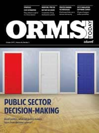 ORMS Today, October 2019